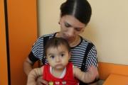 Слепой ребенок стал видеть через 6 дней